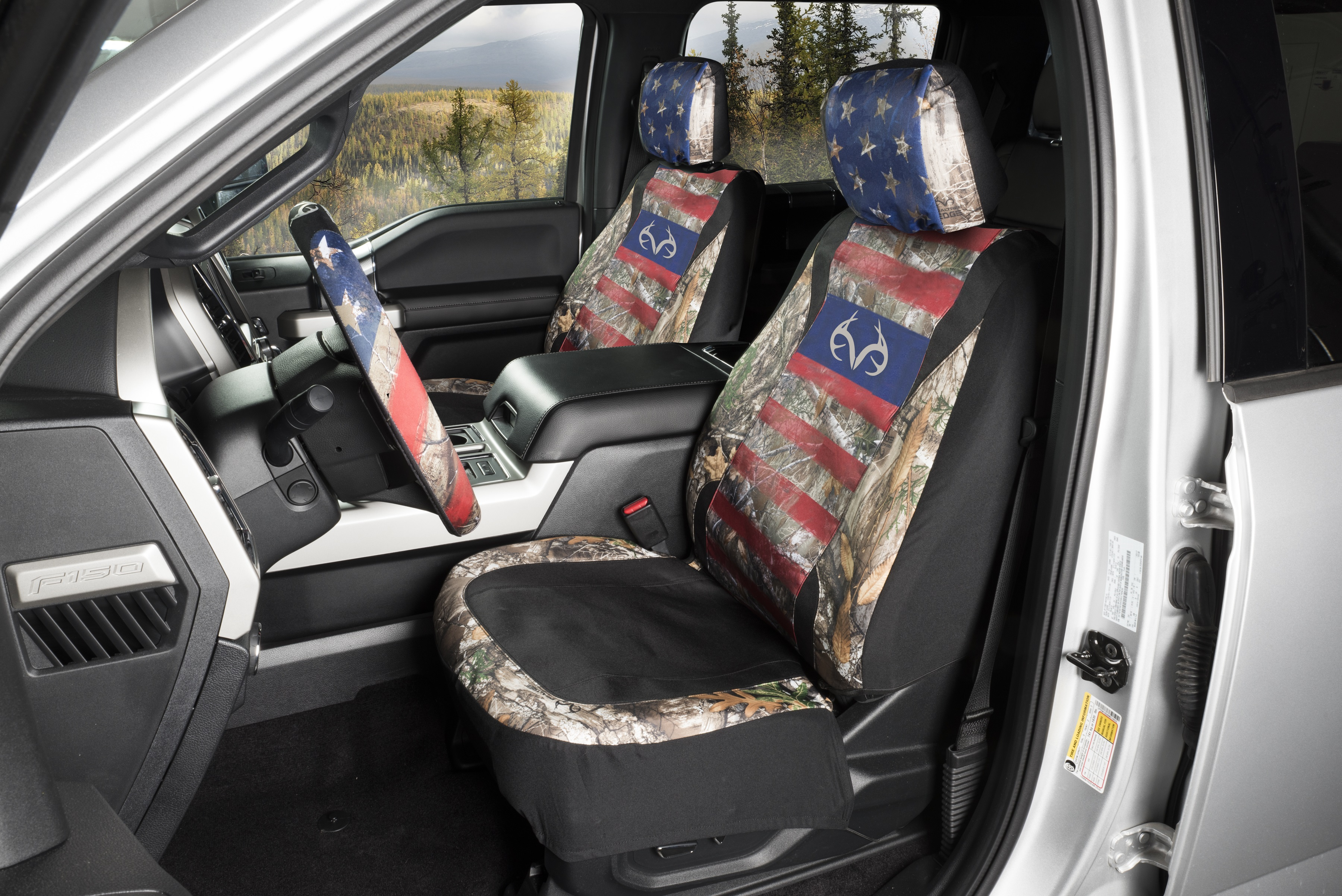 Americana Low Back Seat Cover In Realtree EDGE