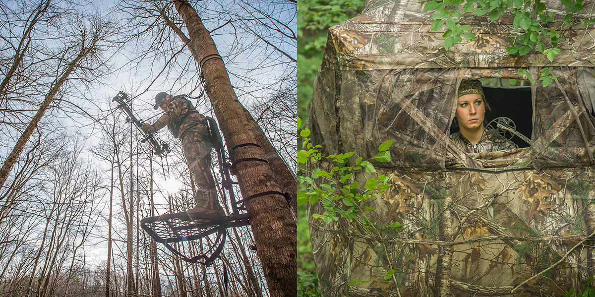 Deer Hunting Debate Treestands Vs Ground Blinds Deer