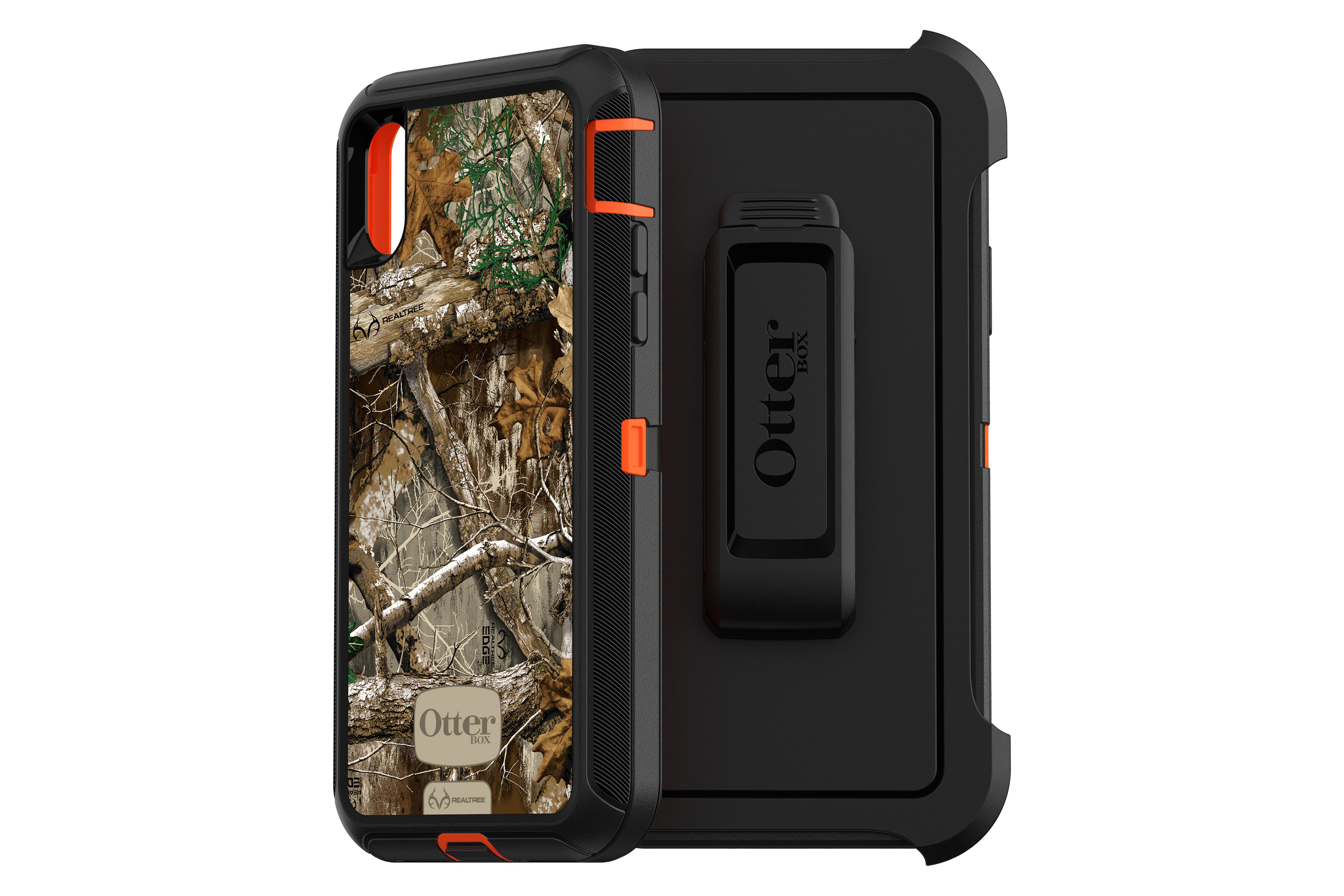 finest selection cb5ec 00dbc OtterBox Defender Series Screenless Edition Case for iPhone X/Xs in  Realtree EDGE and MAX-5