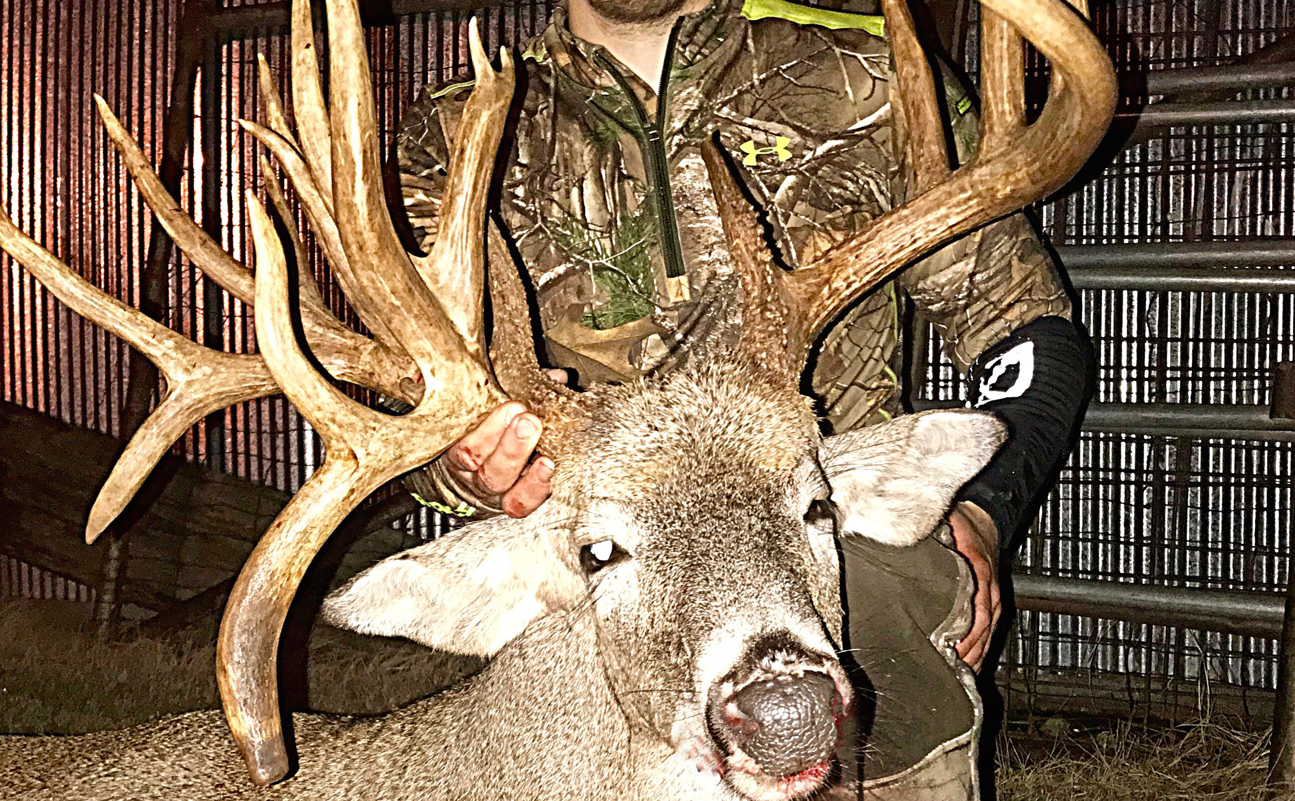 A second chance and a 222 inch giant deer hunting realtree for Realtree game and fish forecast