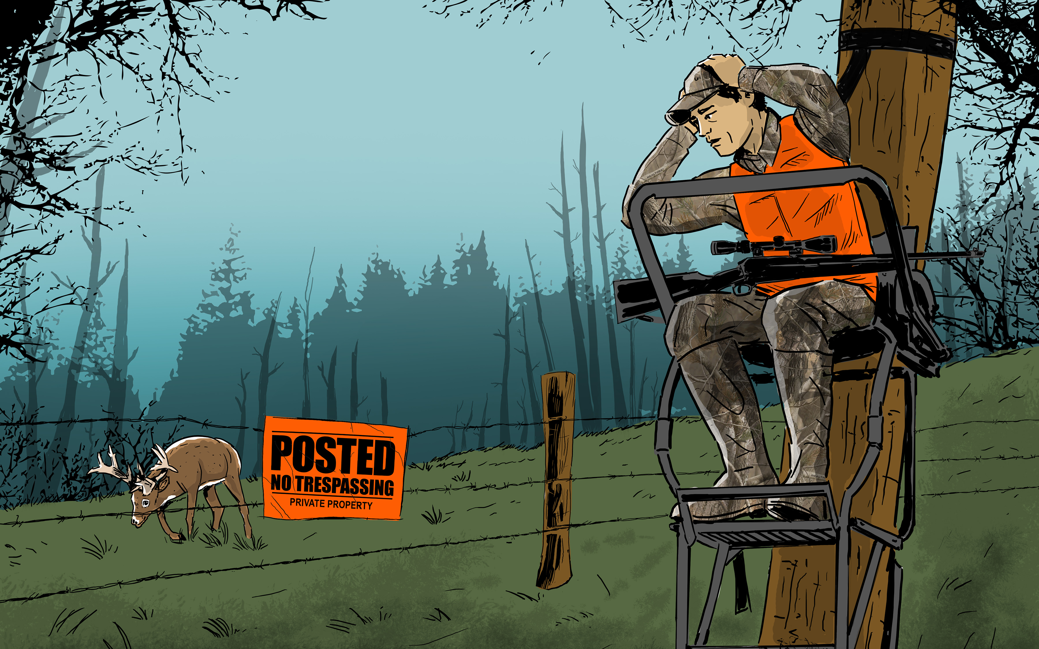 How To Hunt Property Lines Deer Hunting Realtree