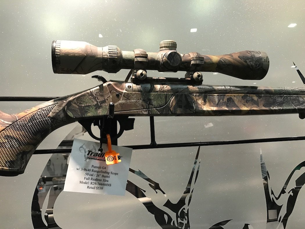 SHOT Show: Awesome Traditions Muzzleloaders for 2018   Deer