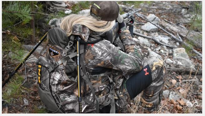 Realtree Video The Tenzing Tv14 Turkey Vest Pack With Seat