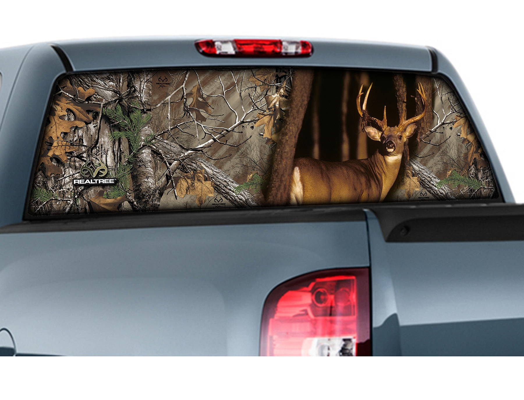 Camowraps 174 Rear Window Graphics Window Film Realtree Camo