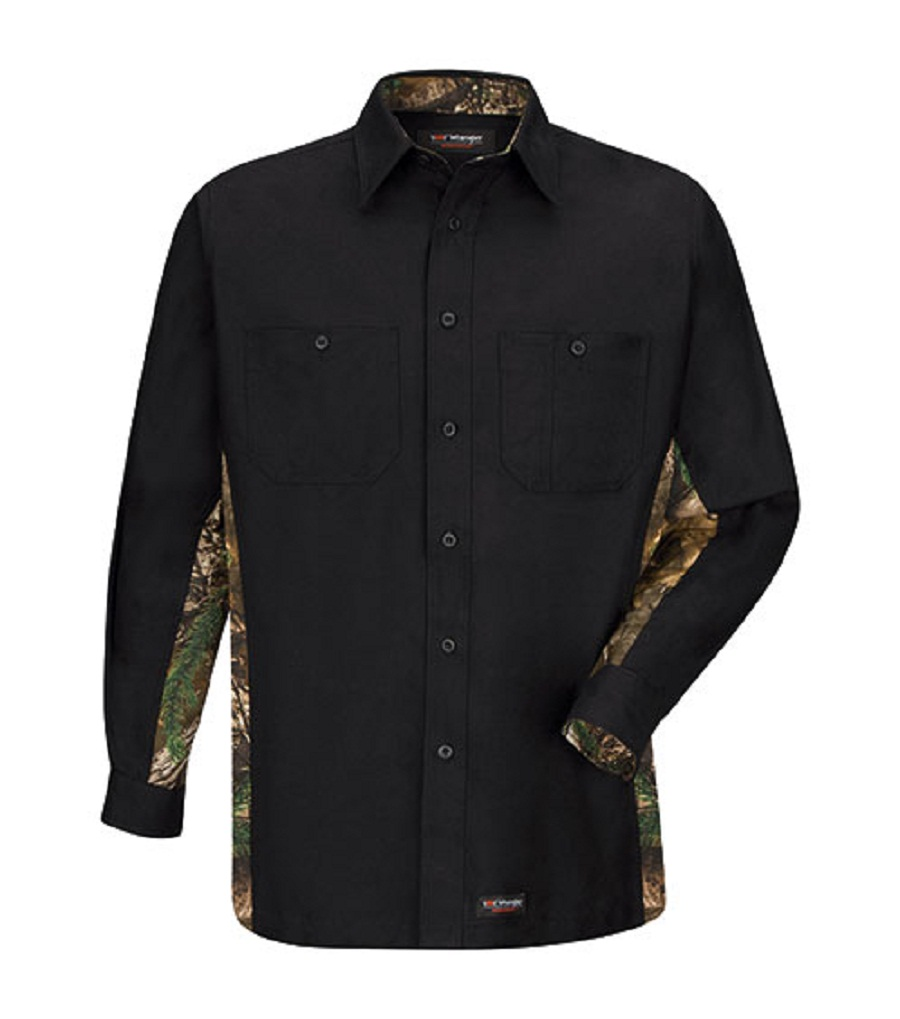 303bd46f28ad8 Wrangler Workwear™ Work Shirt with Realtree Camo now available on  jcpenney.com