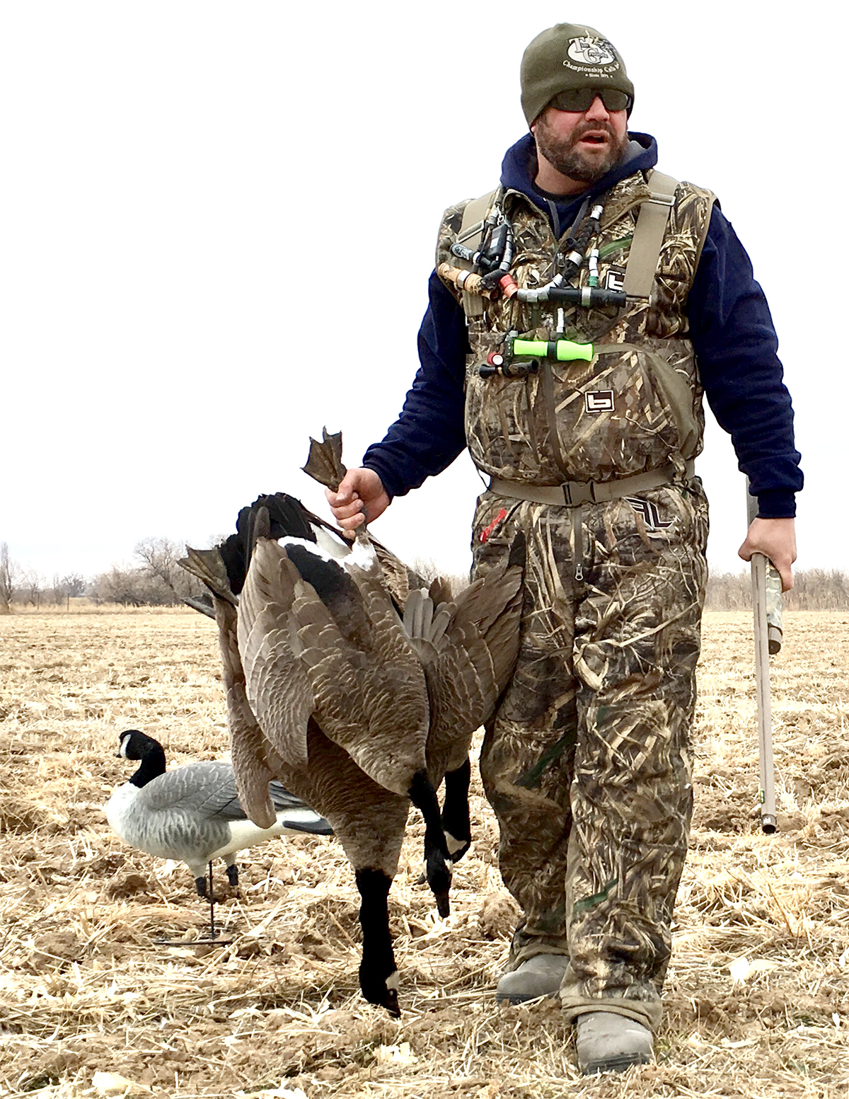 Preparing harvested geese for the table is just as enjoyable as hunting them. Photo © Chad Belding