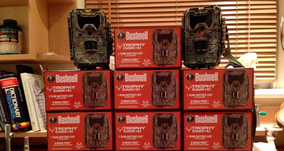 Trail Cams and Boxes.