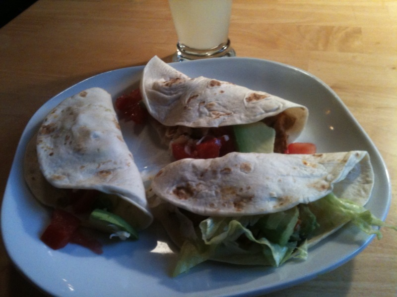Wild turkey tacos. (Steve Hickoff photo.)