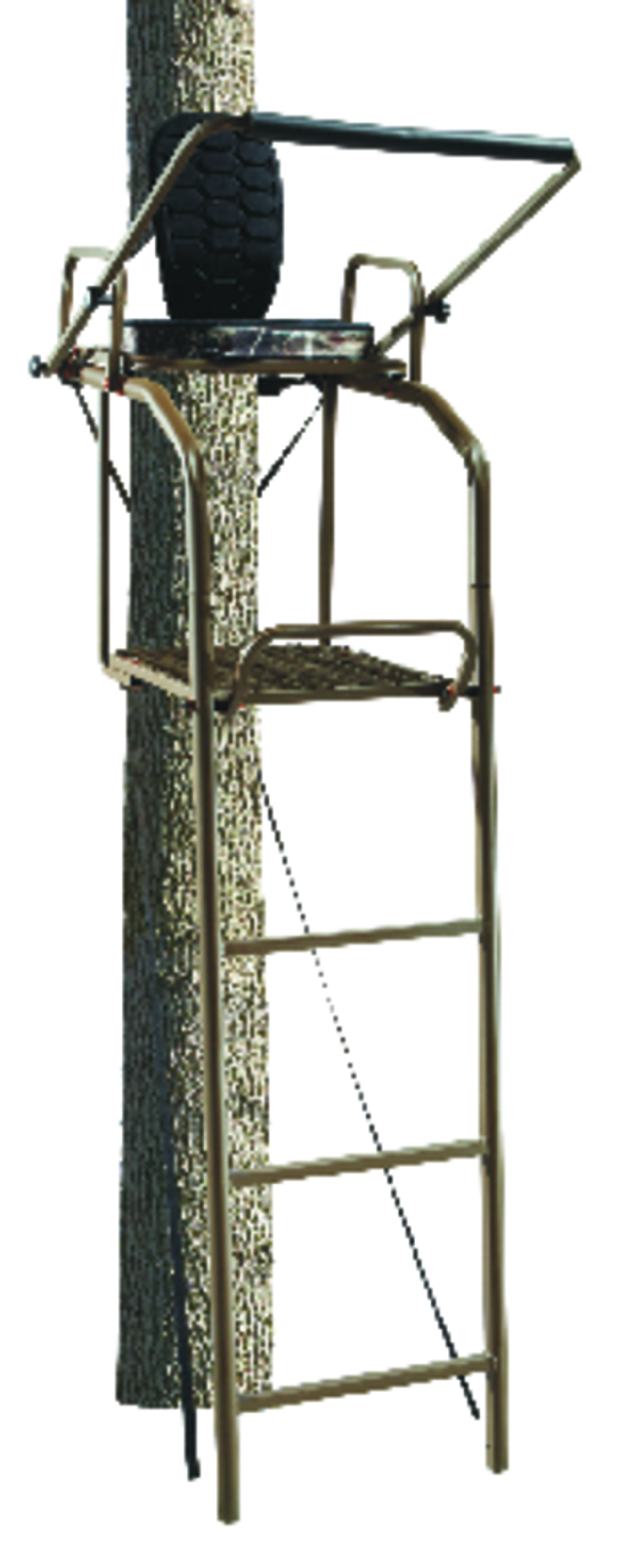 Field Amp Stream 174 Outpost Ladder Stand Realtree Camo