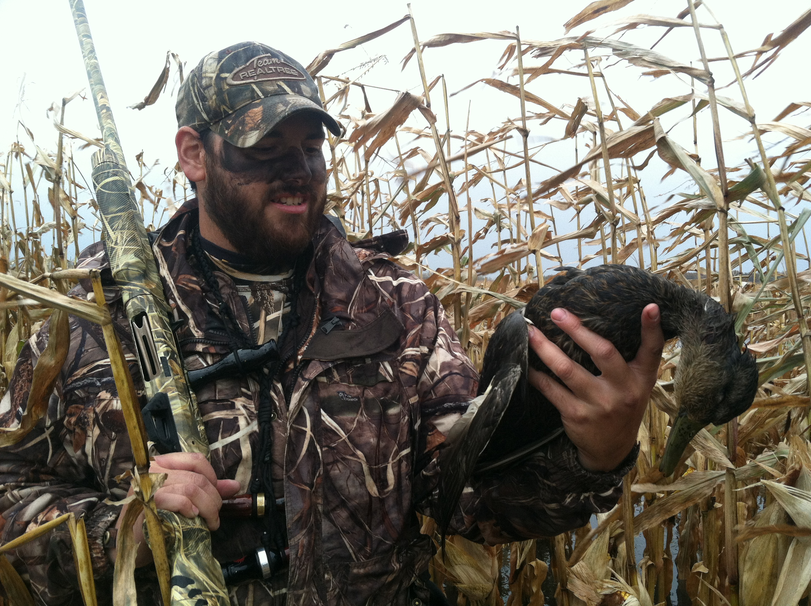 Do You Use Face Paint While Duck Hunting Realtree Camo