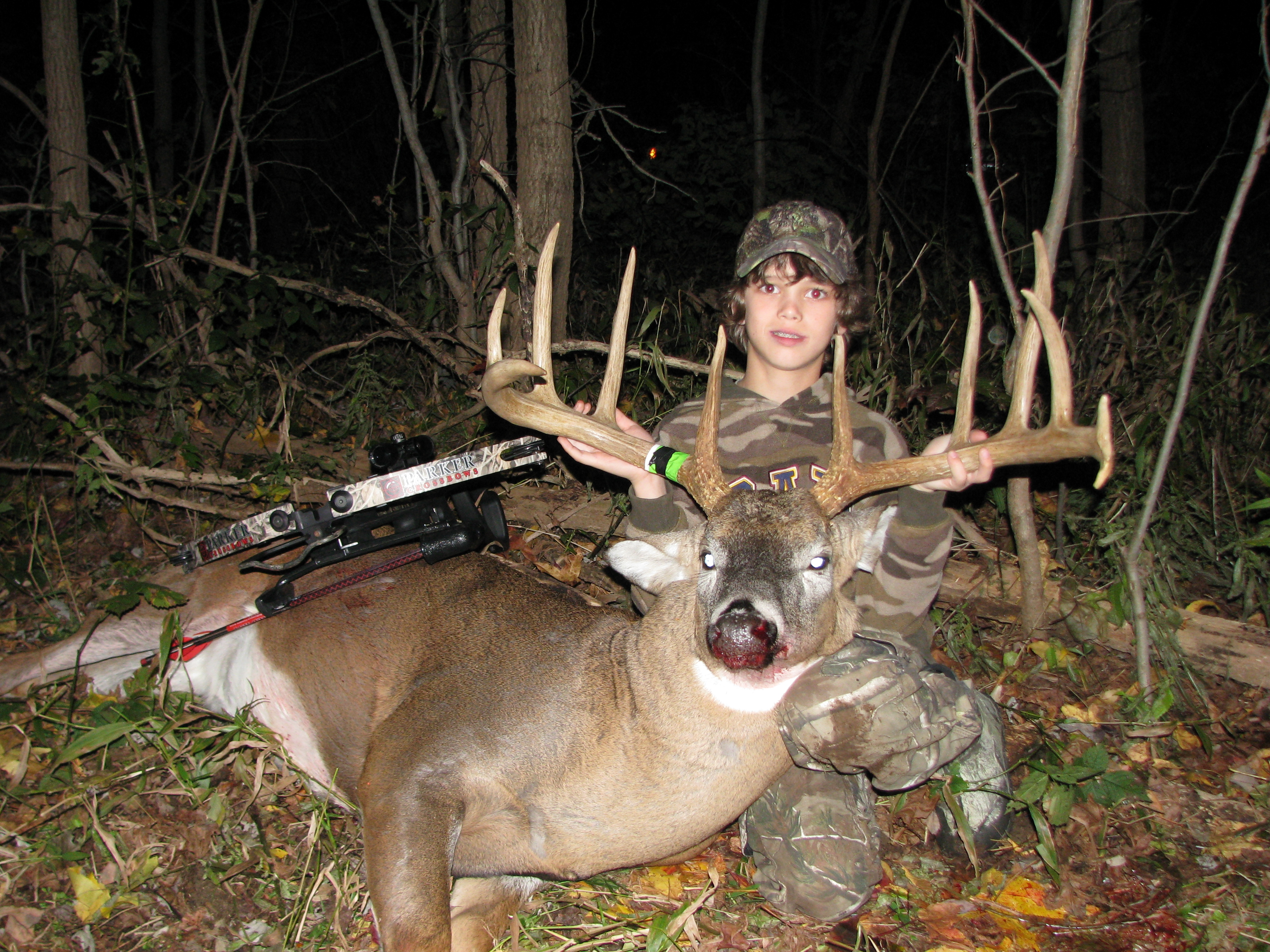 Rack Report 12 Year Old Zach Barker S 175 Inch Crossbow