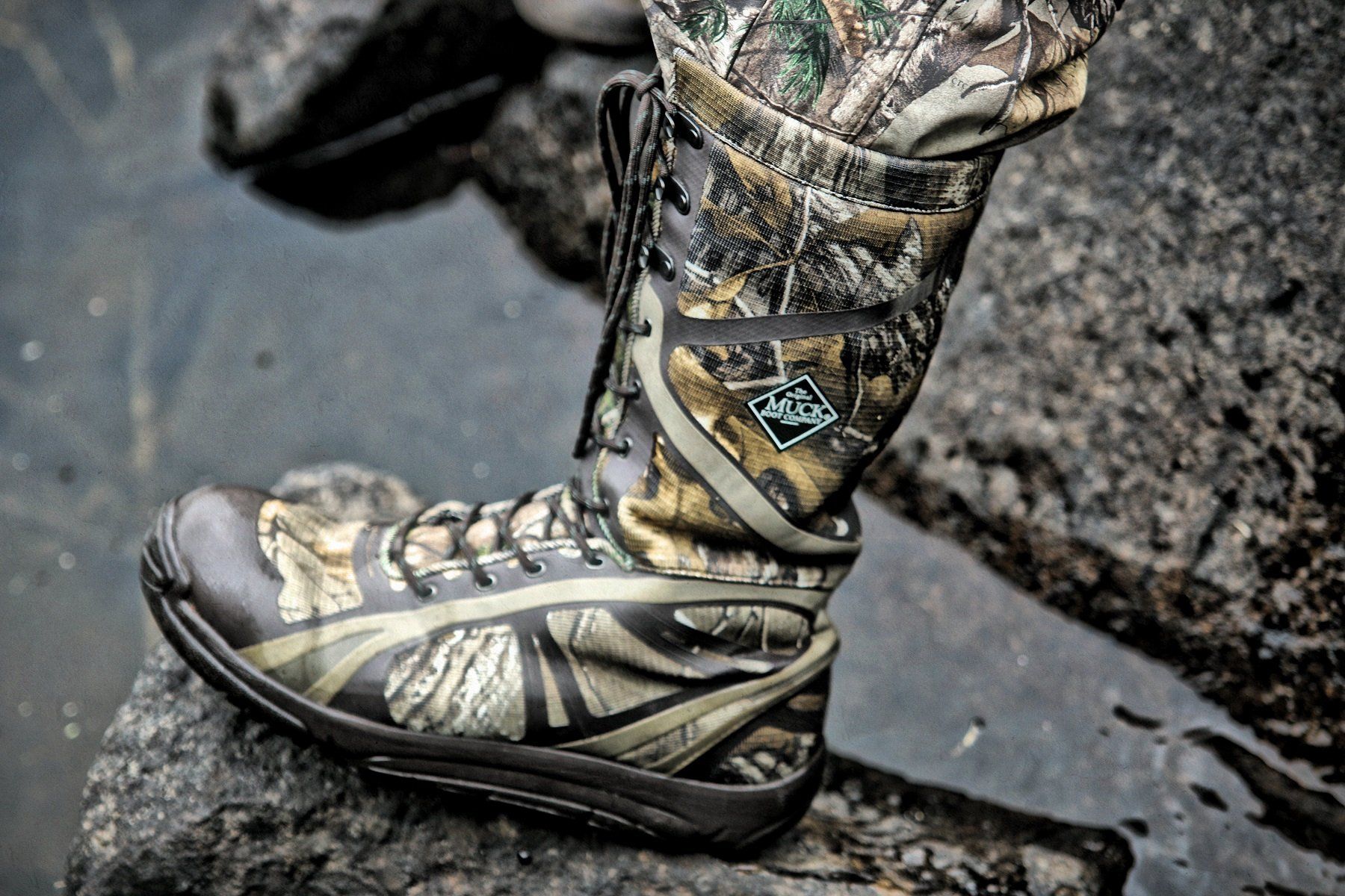 Pursuit Shadow Tall Camo Hunting Boot By Muck Boot Company