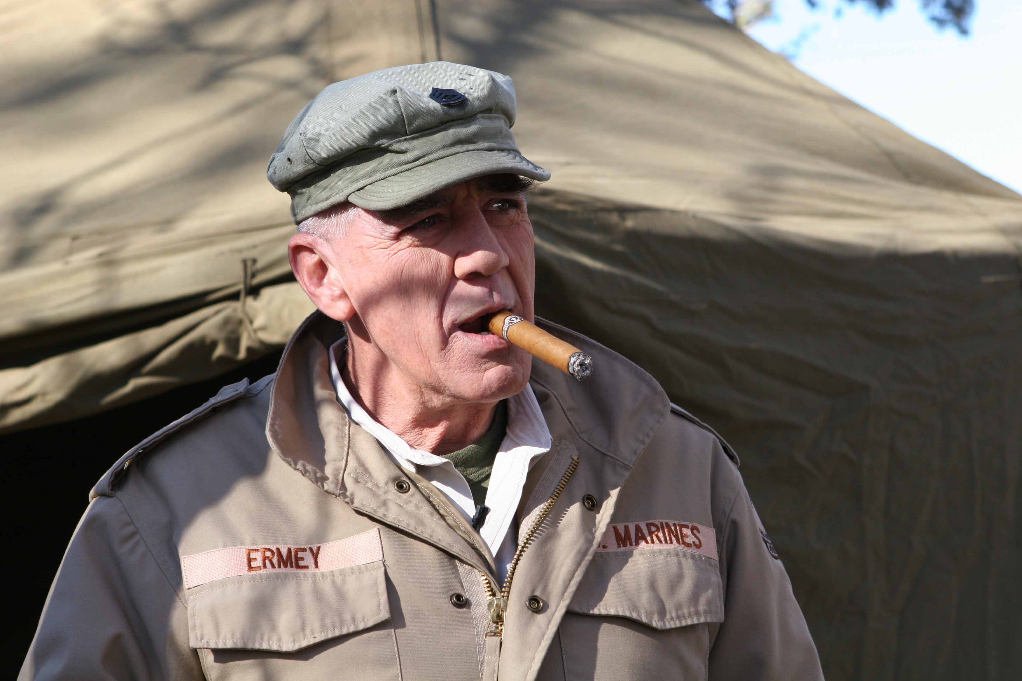 R Lee Ermey Young Real(Tree) People: R. ...