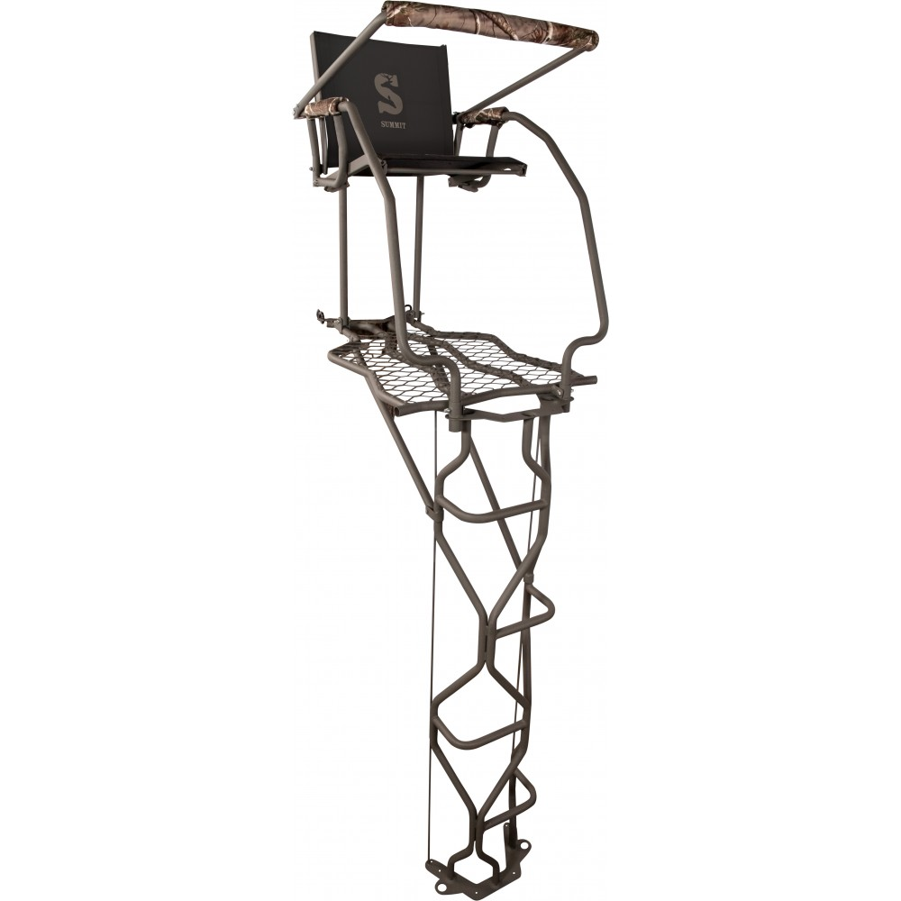 Summit Vine Single Ladder Stand In Realtree Xtra