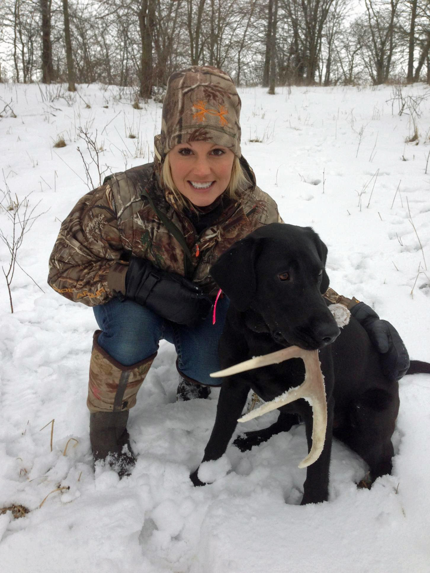 Lee and Tiffany Talk Antler Dogs | Deer Hunting | Realtree Camo