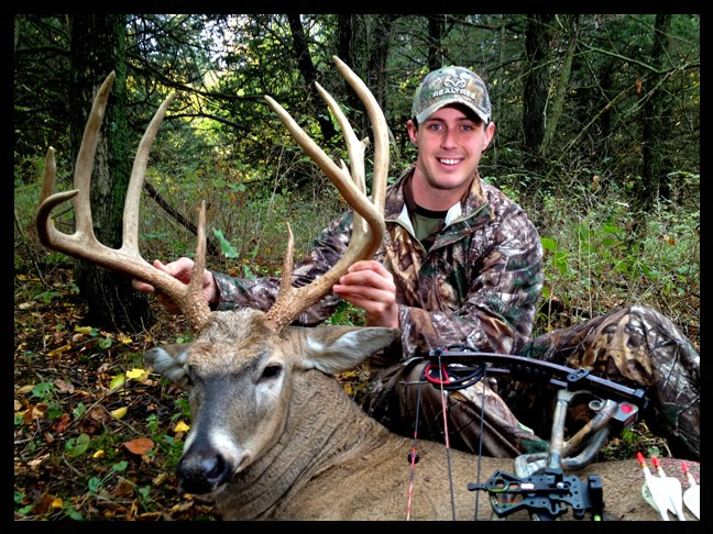 Rack report tyler jordan s biggest buck ever for Realtree game and fish forecast