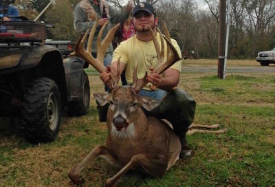 Alex Leblanc killed this big Louisiana stud. (Photo courtesy of Alex Leblanc)