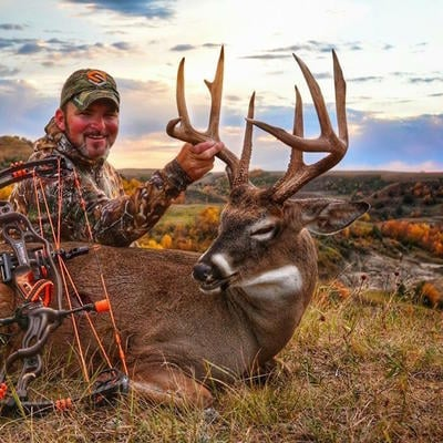 North Dakota has good deer hunting, especially in the hill country. (Photo courtesy of Brent Larson)