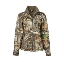 Magellan Outdoors Women's Mesa Scent Control Softshell Jacket in Realtree EDGE Camo Preview