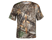 HABIT Men's PT1385 Doss Cabin Short Sleeve Realtree EDGE Camo Tee Preview