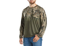 Magellan Outdoors Men's Eagle Bluff Ombre Camo Hunting T-shirt in Realtree Timber Camo Preview