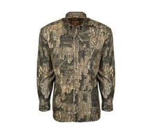 Ol' Tom Mesh Back Flyweight Shirt with Spine Pad in Realtree Timber Camo Preview