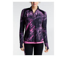 Colosseum Women's Ascend Zip Top Realtree Fishing Shirt Preview