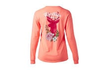 Realtree Women's Floral Deer Long Sleeve T-Shirt Preview