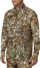 Field & Stream Men's Quarter Zip Tech Tee in Realtree EDGE Preview