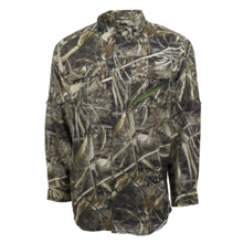 Heybo Outdoors Outfitter Long Sleeve Shirt in Realtree MAX-5 Preview