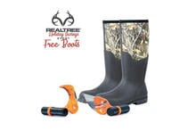 Raptor Razor Realtree Combo Gift Pack with Free Realtree Camo Boots Preview