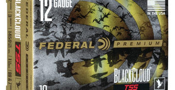 Have you seen these new Federal Premium Black Cloud TSS loads? (Federal courtesy photo)