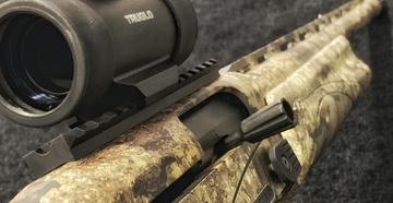 Have you seen the new Remington V3 Turkey Pro in Realtree Timber? (© Bill Konway photo)