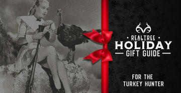 Check out these holiday gifts for turkey hunters.