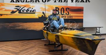 Drew Gregory credits his much of his tournament success to his lightweight, easy-to-maneuver Crescent Kayaks.