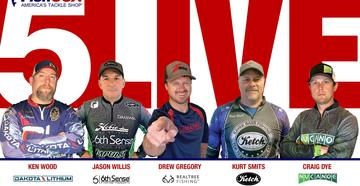 Support Realtree Fishing pro Drew Gregory by joining the Kayak Bass Fishing Facebook page Saturday, May 2, starting at 9 a.m. (ET).
