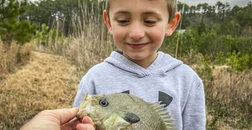 In an uncertain world, a single keeper panfish puts things into perspective.