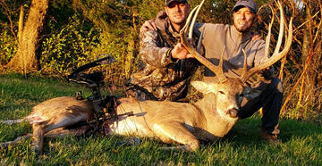 Johnny Ferrell kills a stud of an Ohio buck with a little help from his brother and a well-timed cell-cam photo