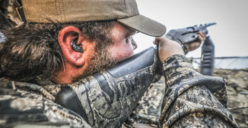 Hearing loss is 100% preventable when hunters and shooters understand the causes behind it and take steps to prevent hearing damage. Image by Tetra Hearing