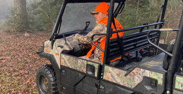 Should You Walk or Ride an ATV to Your Deer Stand?