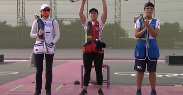 Team USA's Amber English Wins Women's Skeet Olympic Gold Medal, Sets Record