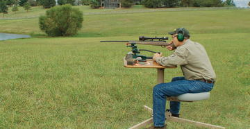 How to build your own shooting range.
