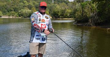 Learn more about Mark Rose, FLW's Angler of the Year. (Courtesy of Strike King/Photo by Darren Jacobson)