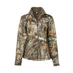 Magellan Outdoors Women's Mesa Scent Control Softshell Jacket in Realtree EDGE Camo Front