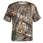 HABIT Men's PT1385 Doss Cabin Short Sleeve Realtree EDGE Camo Tee