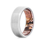 Men's Titanium Ring with Realtree AP Camo Interior