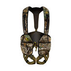 Hybrid Flex Safety Harness by Hunter Safety System in Realtree EDGE Camo