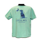 Local Boy Realtree Fishing Dog & Moon Logo Shirt