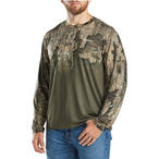 Magellan Outdoors Men's Eagle Bluff Ombre Camo Hunting T-shirt in Realtree Timber Camo