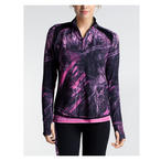 Colosseum Women's Ascend Zip Top Realtree Fishing Shirt